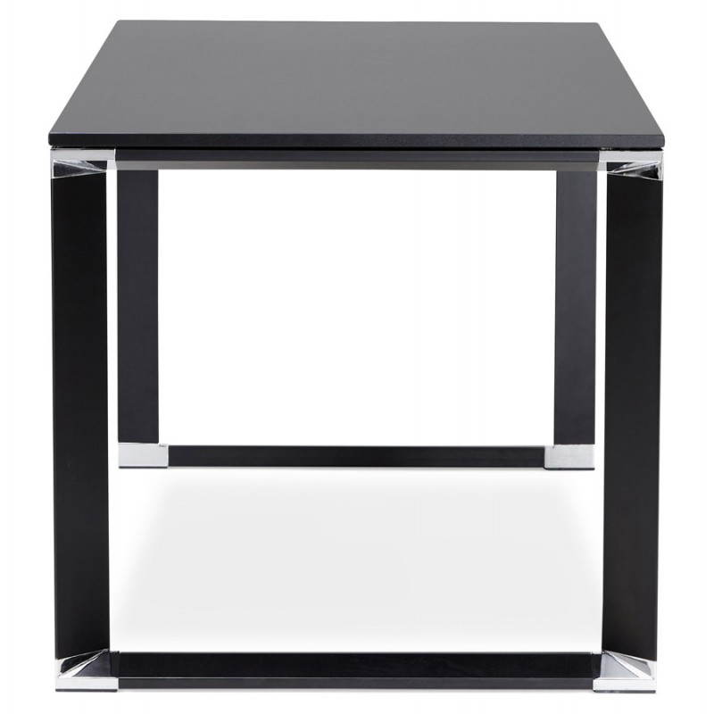 Bureau droit design BOUNY en bois (noir) - image 26023