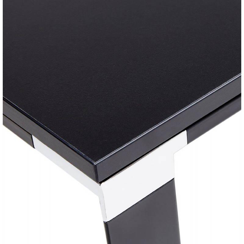 Bureau droit design BOUNY en bois (noir) - image 26025