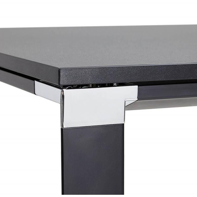 Bureau d'angle design CORPORATE en bois (noir) - image 26246