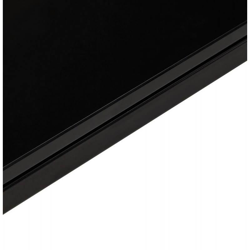 Bureau d'angle design MASTER en verre trempé (noir) - image 26263