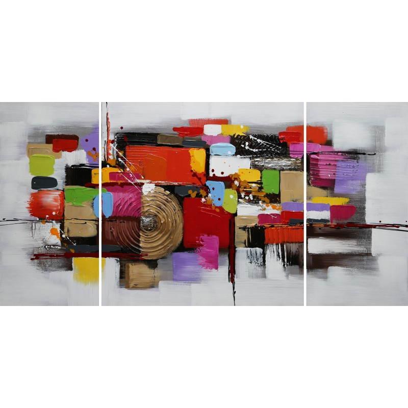 Tableau peinture contemporaine de style abstrait SPIRALE  - image 26464