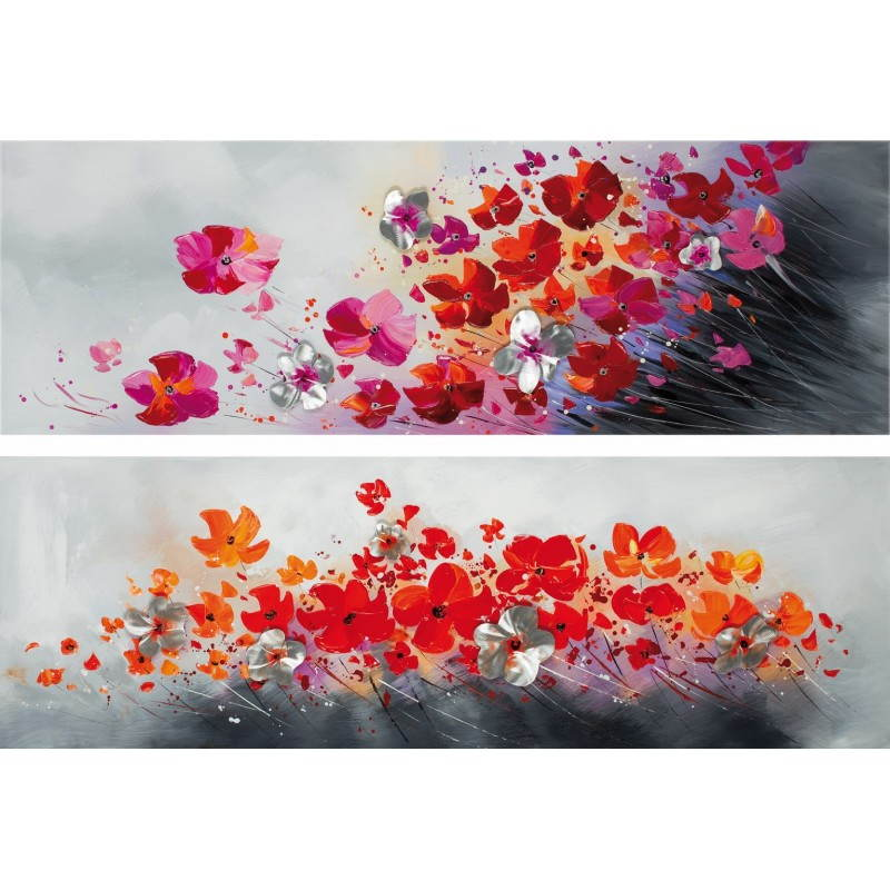 2 tables flora floral painting  - image 26482