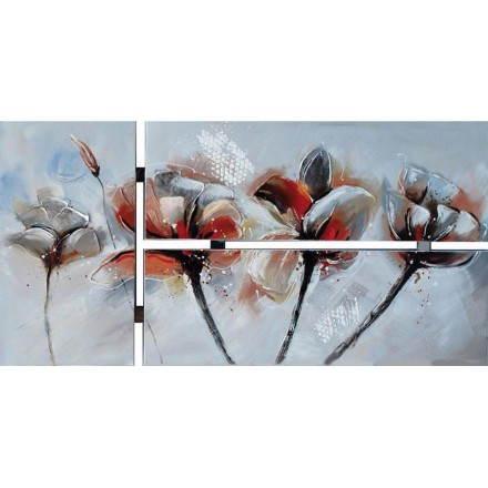 Quadri Pittura floreale geranio