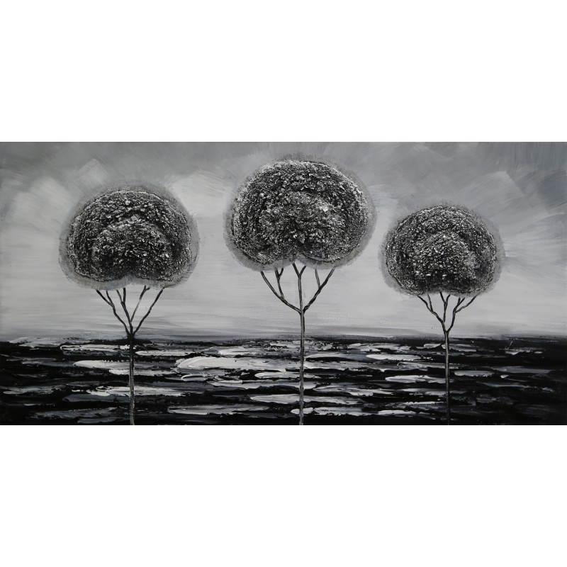 Tabelle Malerei figurative zeitgenössische Bäume