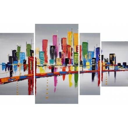 Tabelle Malerei figurative zeitgenössische abstrakte