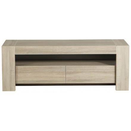 Base cabinet design TV AUTEUIL (raw oak)