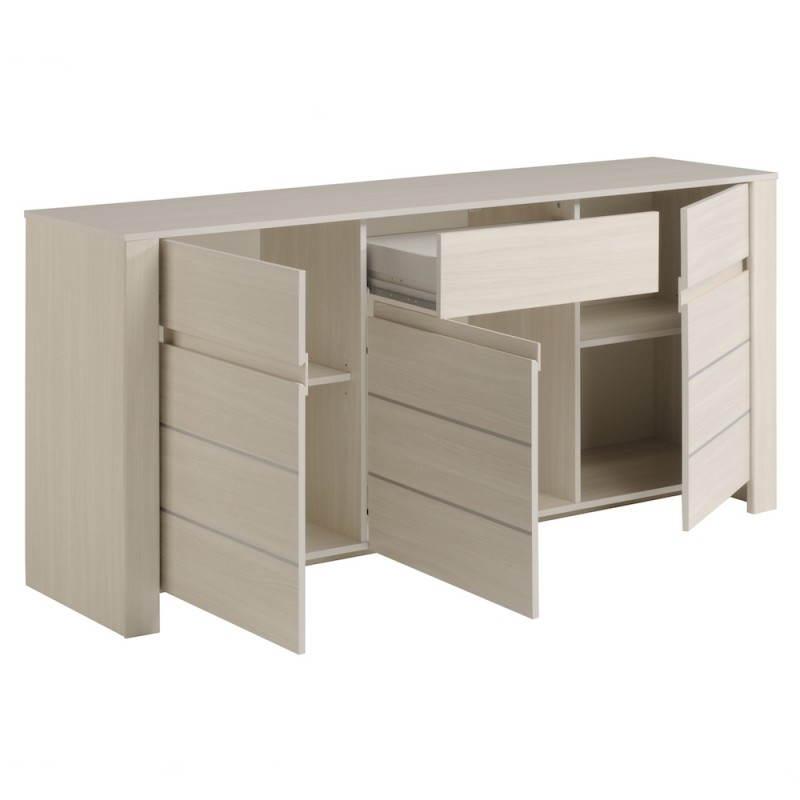buffet enfilade 3 portes contemporain quene fr ne shade. Black Bedroom Furniture Sets. Home Design Ideas