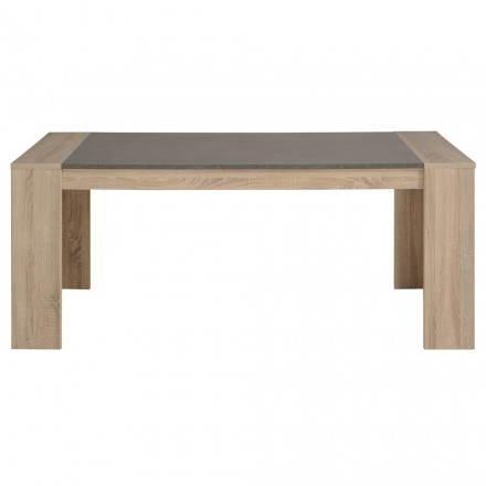Mesa de comedor diseño FIRMIN decoración materia prima roble ...