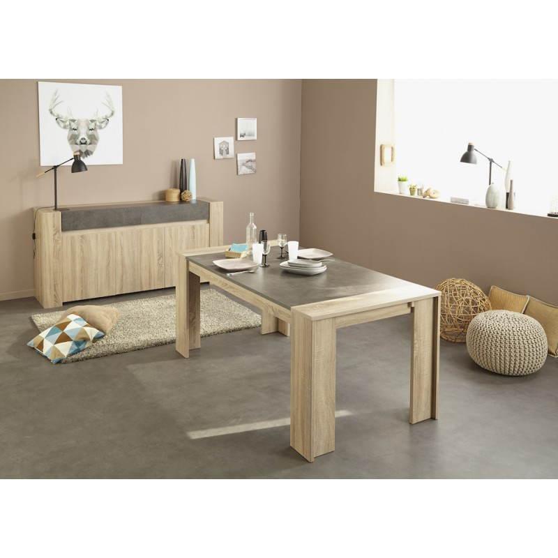 da pranzo design FIRMIN arredamento rovere grezzo (cemento beige ...
