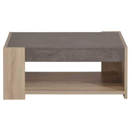 salle manger firmin d cor ch ne brut et b ton techneb shop mobilier design qualit. Black Bedroom Furniture Sets. Home Design Ideas