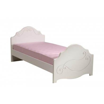 Bett 90 X 200 Cm Romantischen Stil Hoheit Weiss Madchen Amp Story