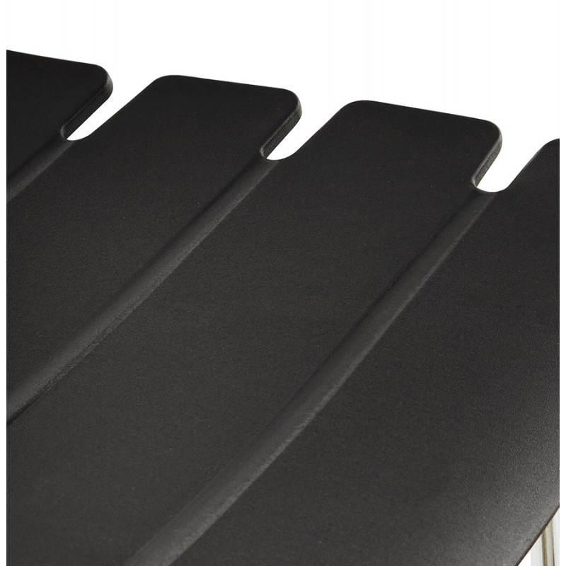 Tabouret de bar mi-hauteur design BRIO en polypropylène (noir) - image 27602