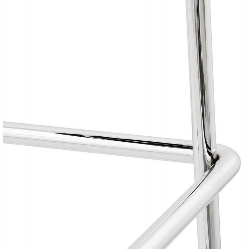 Tabouret de bar mi-hauteur design BRIO en polypropylène (noir) - image 27605
