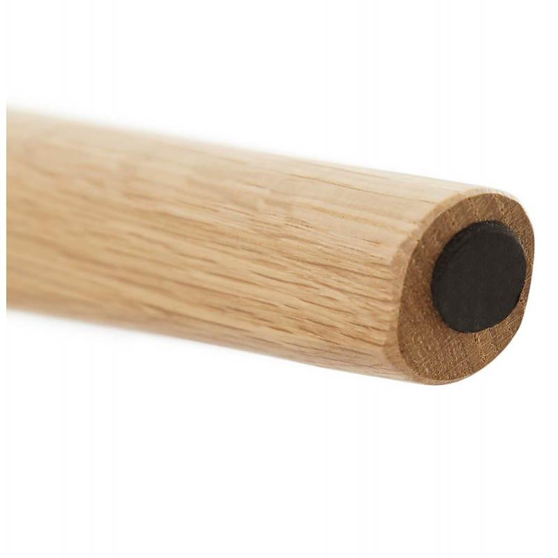 Tables basses design gigognes ART en bois et chêne massif (gris foncé) - image 27789