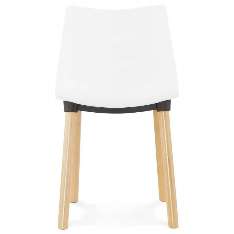 Skandinavisches Designstuhl SCHWEDEN (weiß) - image 27821