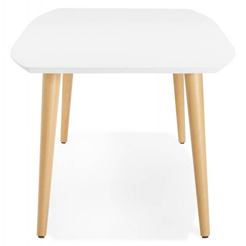 Table manger style scandinave avec rallonges trine en - Table a manger style scandinave ...