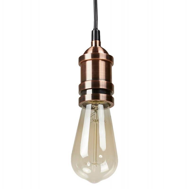 Ampoule longue vintage industrielle IVAN en verre (transparent, fumé) - image 28250