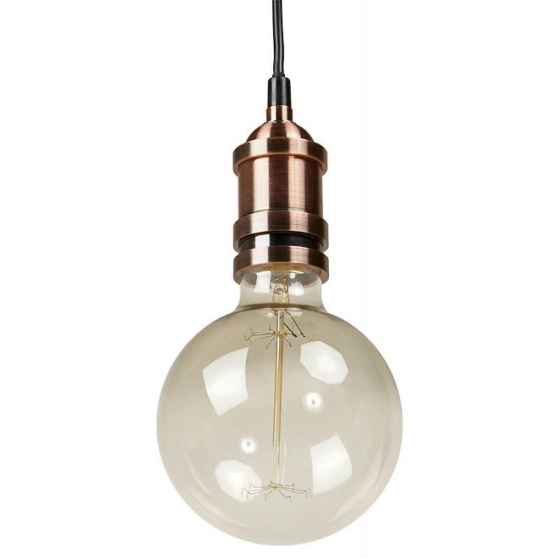 En Vintage Industrielle Suspendues Ampoule VerretransparentFuméLampes Ivan Big Ronde 6mYfvgyI7b