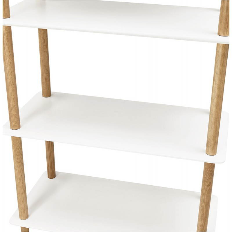 etagere bois blanc bibliothque cases with etagere bois blanc cheap etagere bois rectangle with. Black Bedroom Furniture Sets. Home Design Ideas