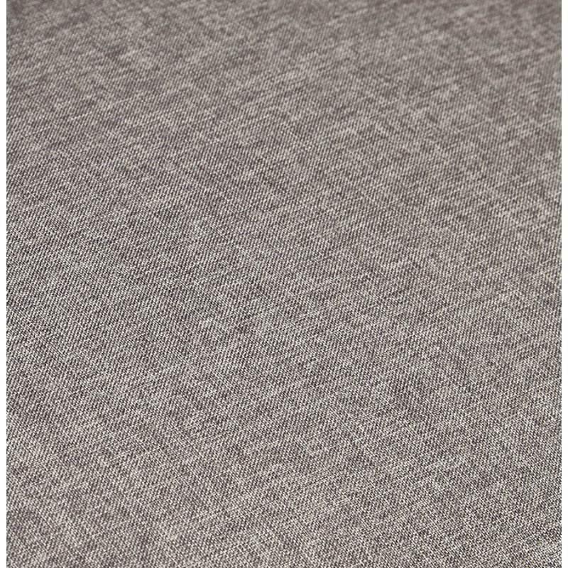 Moderno sofá fijo 3 lugares a tela de IRINA (gris oscuro) - image 28513