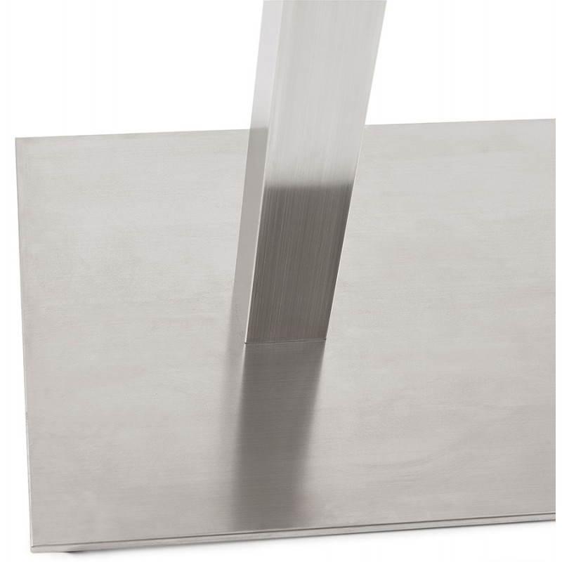 Double pied de table rambou en acier bross 50cmx100cmx73cm - Pied de table 100 cm ...