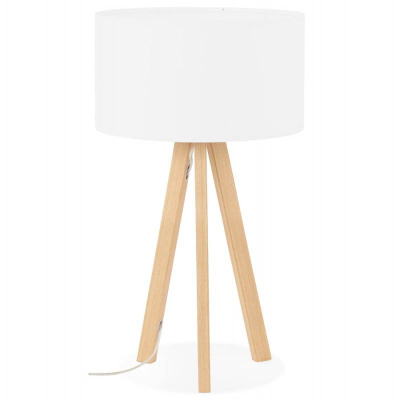 Lampe de table sur trépied scandinave TRANI MINI  (blanc) - image 28564