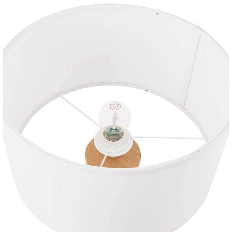 Lampe de table sur trépied scandinave TRANI MINI  (blanc) - image 28569