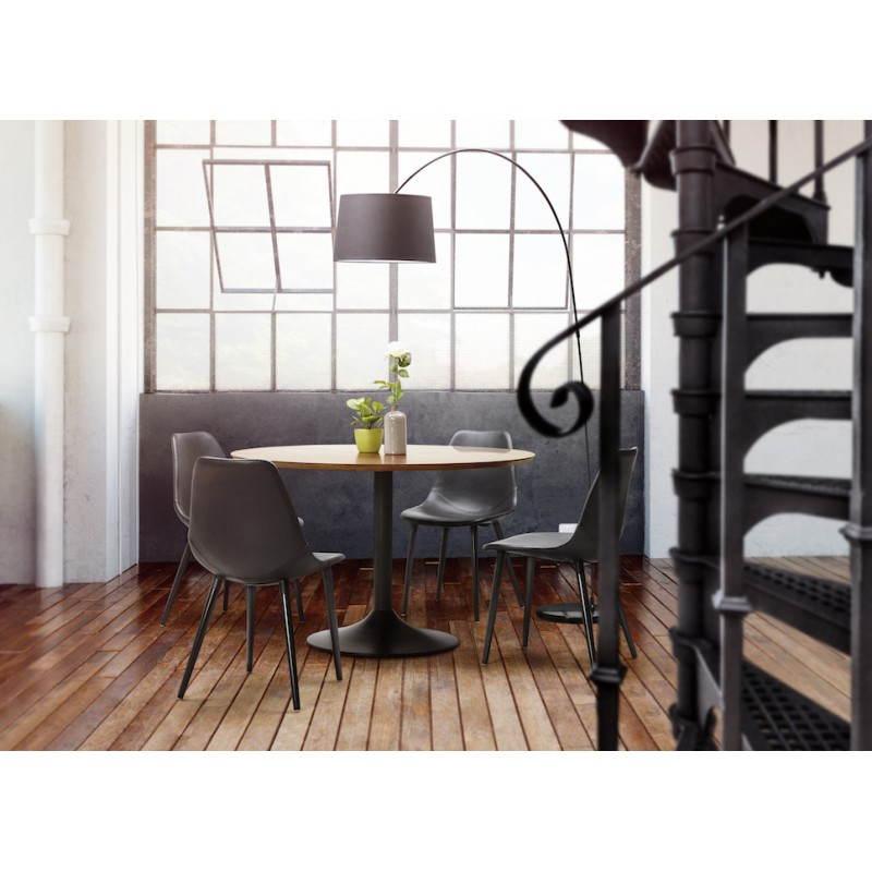 Chaise design contemporaine LOLA (noir) - image 28612