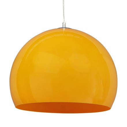 Suspended lamp retro and vintage ARA (orange)