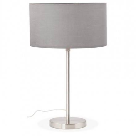 Tisch-Lampen-Design höhenverstellbar LAZIO (grau)