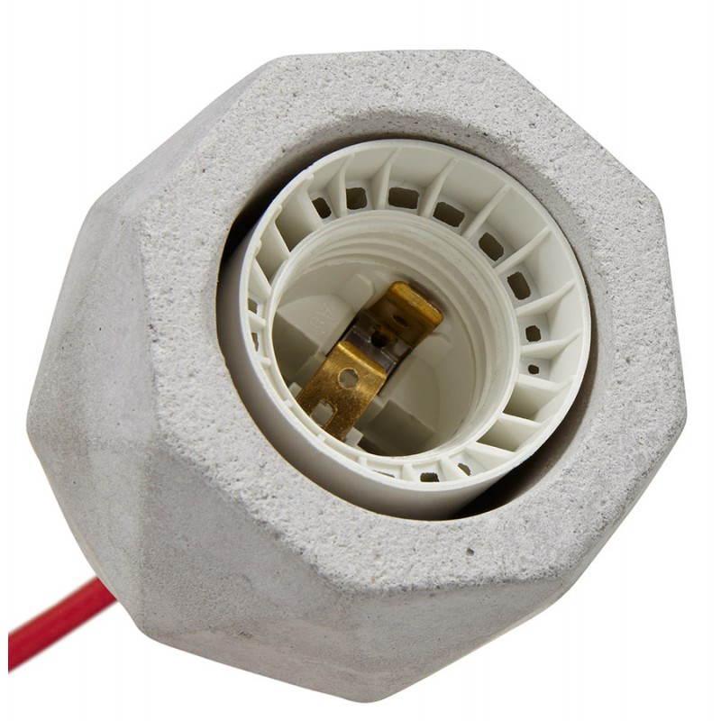 Presa sospensione lordo effetto design (grigio) cemento - image 28752