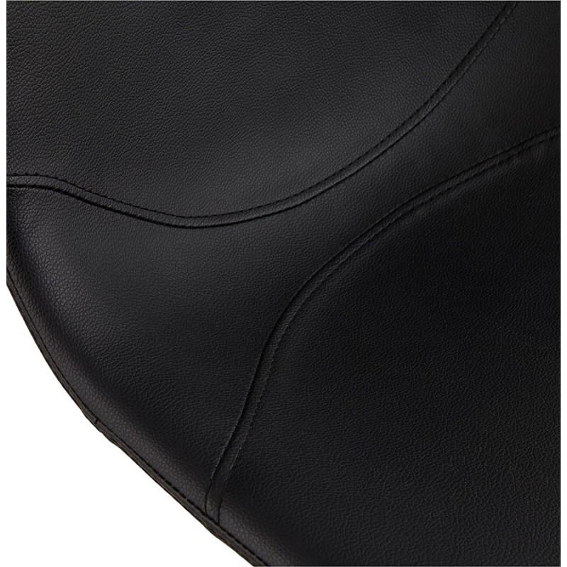 Chaise design OFEN en polyuréthane et métal chromé (noir, chrome) - image 29043