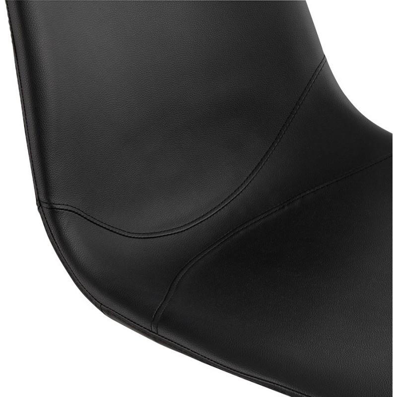 Chaise design OFEN en polyuréthane et métal peint (noir) - image 29054