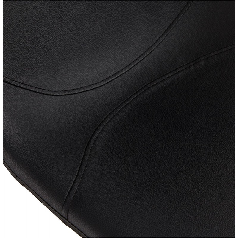 Chaise design OFEN en polyuréthane et métal peint (noir) - image 29056