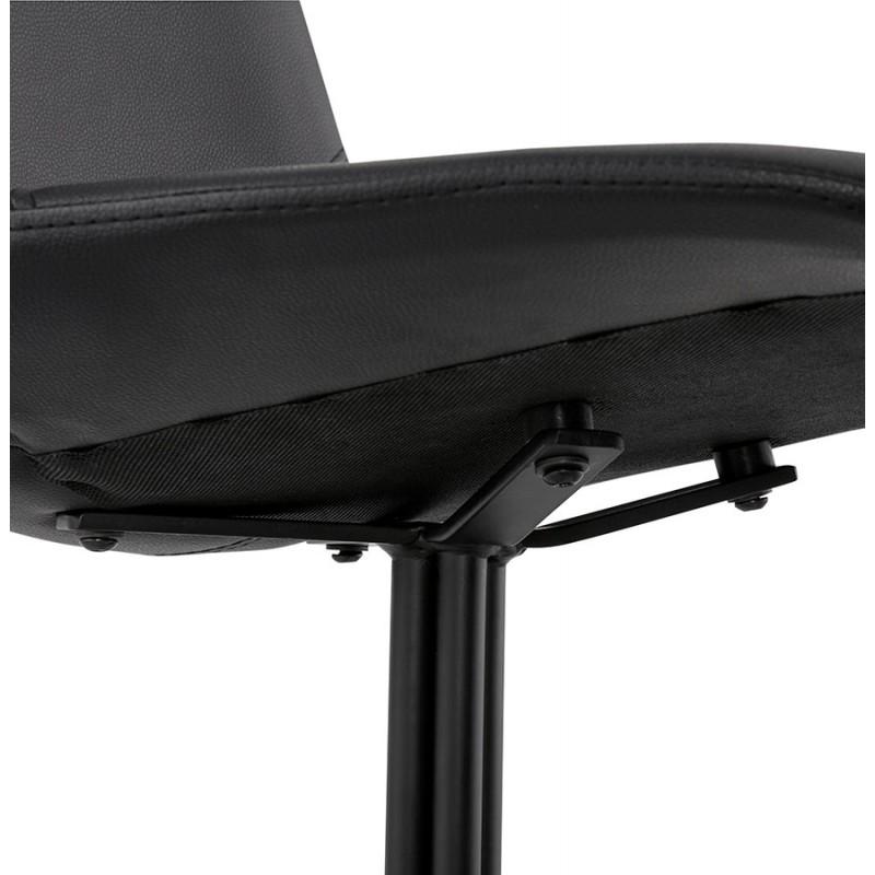 Chaise design OFEN en polyuréthane et métal peint (noir) - image 29057