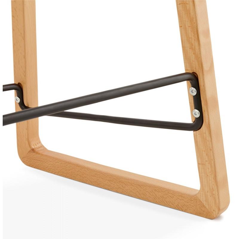 Tabouret de bar chaise de bar mi-hauteur scandinave SCARLETT MINI (blanc) - image 29072