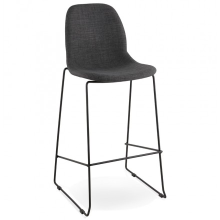 Tremendous Stool Design Bar Doly Dark Gray Fabric Chair Amp Story 4062 Ocoug Best Dining Table And Chair Ideas Images Ocougorg
