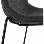 Stool design bar DOLY (dark gray) fabric Chair