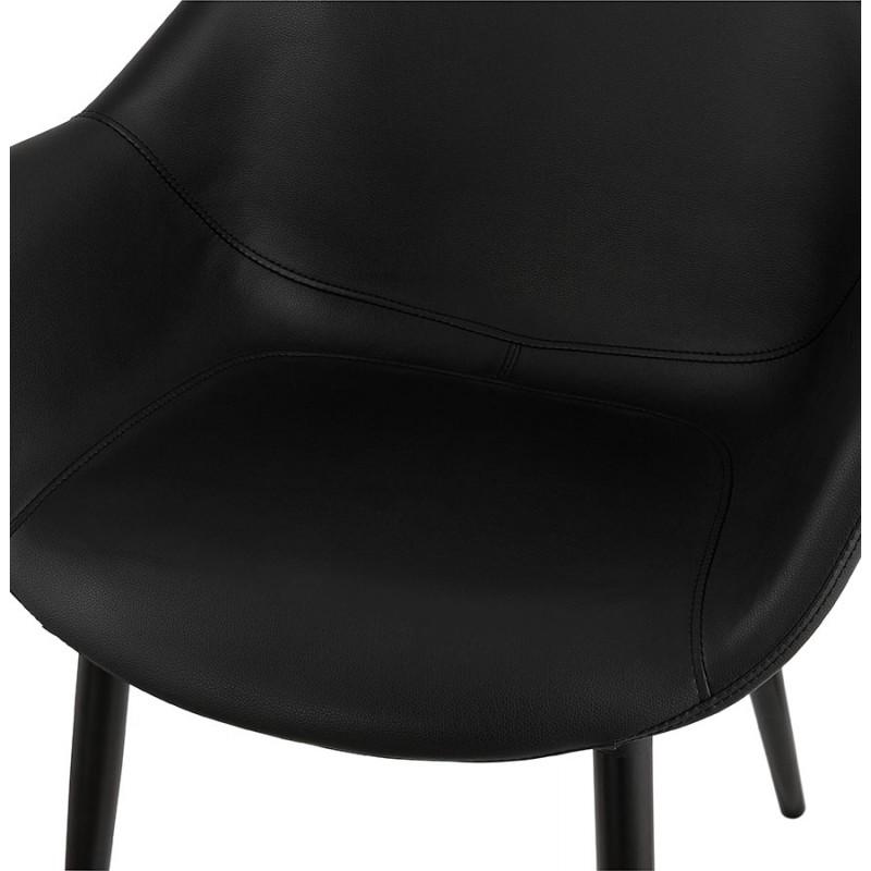 Fauteuil chaise design et moderne ORLY (noir) - image 29095