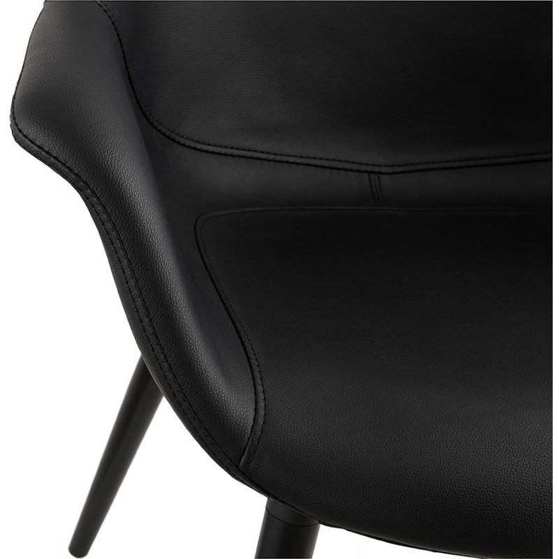 Fauteuil chaise design et moderne ORLY (noir) - image 29097