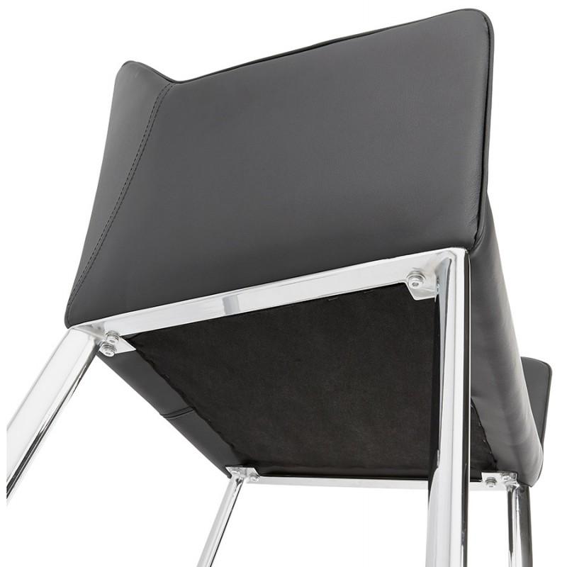 fauteuil chaise design et r tro mateo noir. Black Bedroom Furniture Sets. Home Design Ideas