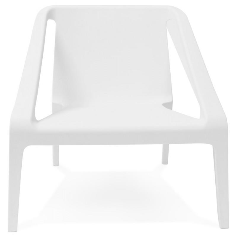 Fauteuil de jardin relax design SUNY (blanc) - image 29148