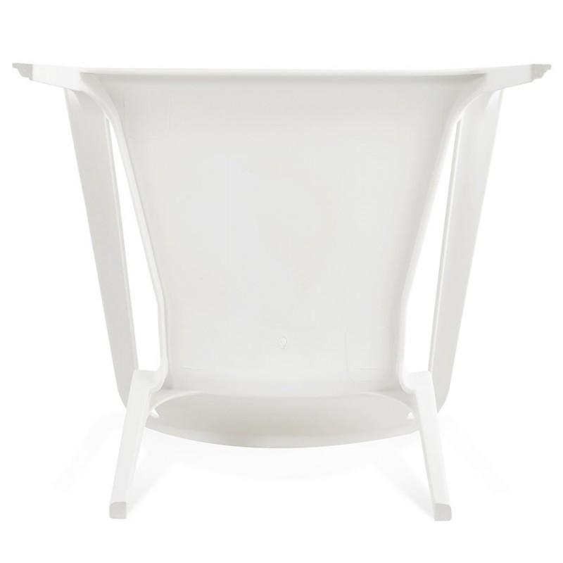 Fauteuil de jardin relax design SUNY (blanc) - image 29154