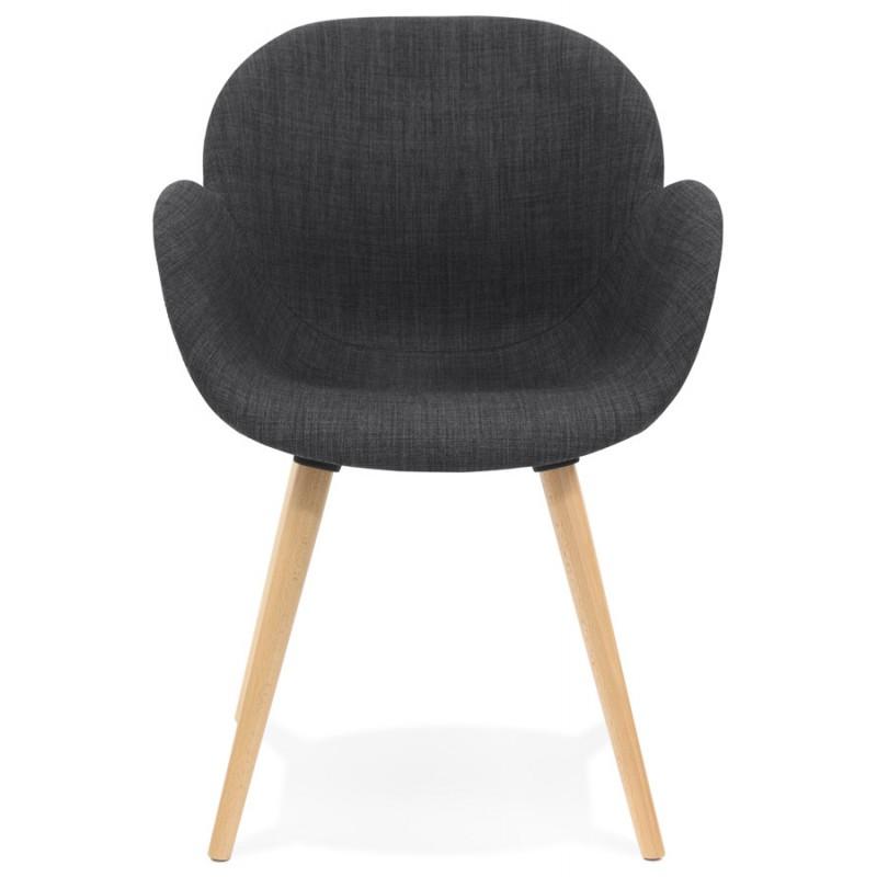 Chaise Design Scandinave Style Lena En Tissugris Foncé VpLUMjzqSG
