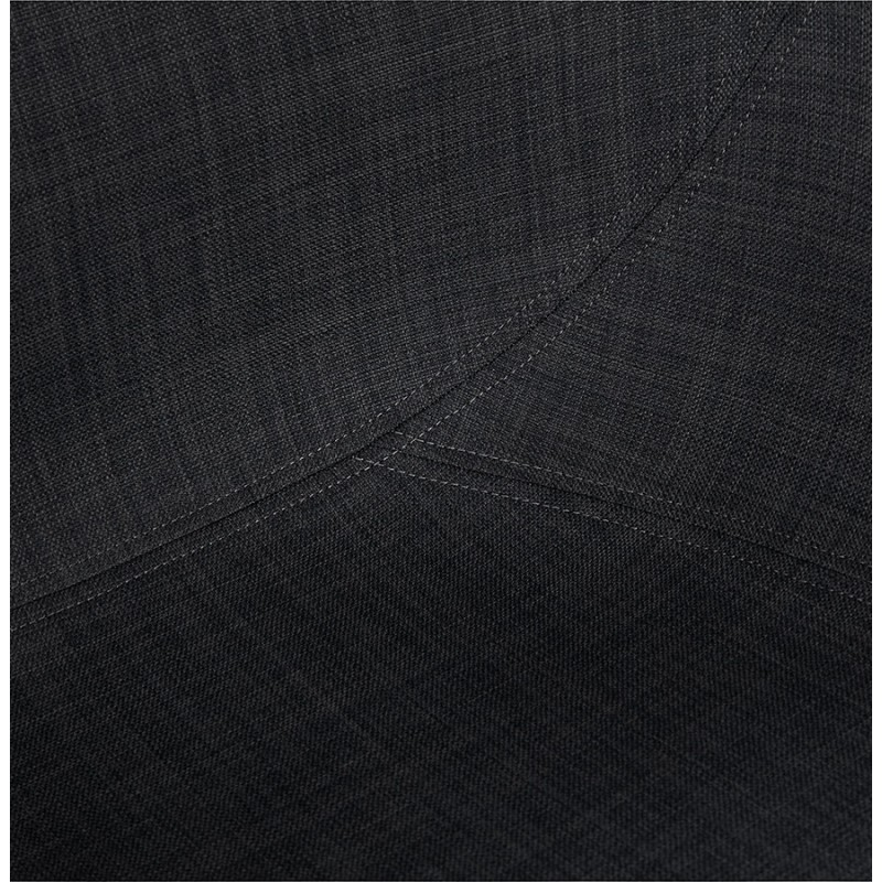 Chaise design style scandinave LENA en tissu (gris foncé) - image 29204