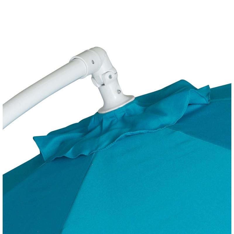 Parasol déporté octogonal ALICE en polyester et aluminium (bleu) - image 29353