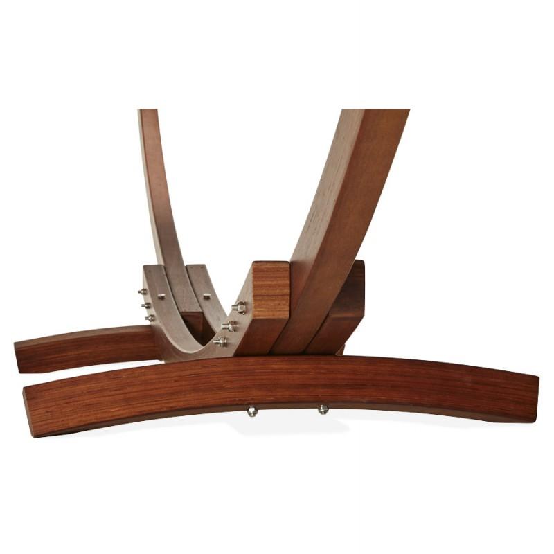 Hamac pied arqué JULES en bois et toile démontable (taupe) - image 29412