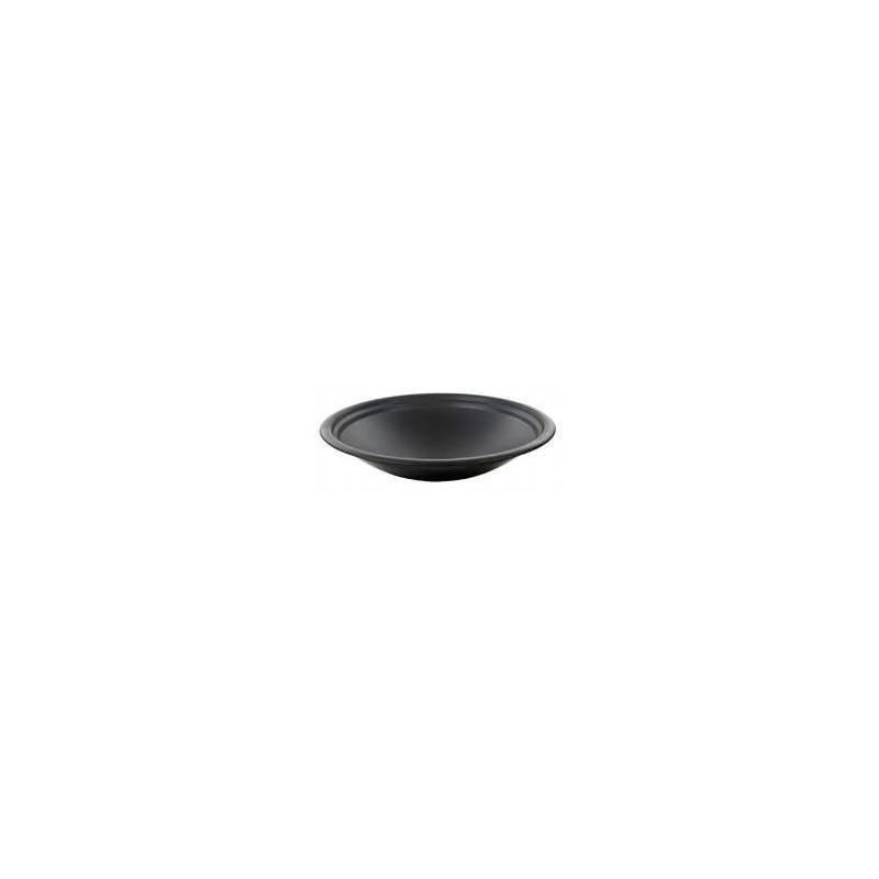 Table de jardin basse ronde HAWAI aspect fer forgé et mosaïque (noir, beige) - image 29462