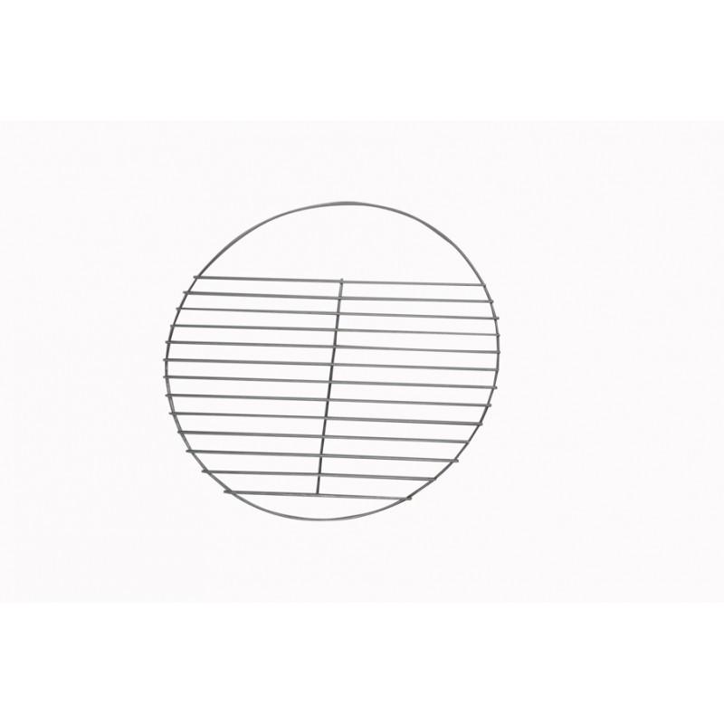Table de jardin basse ronde MOOREA aspect fer forgé (noir) - image 29471