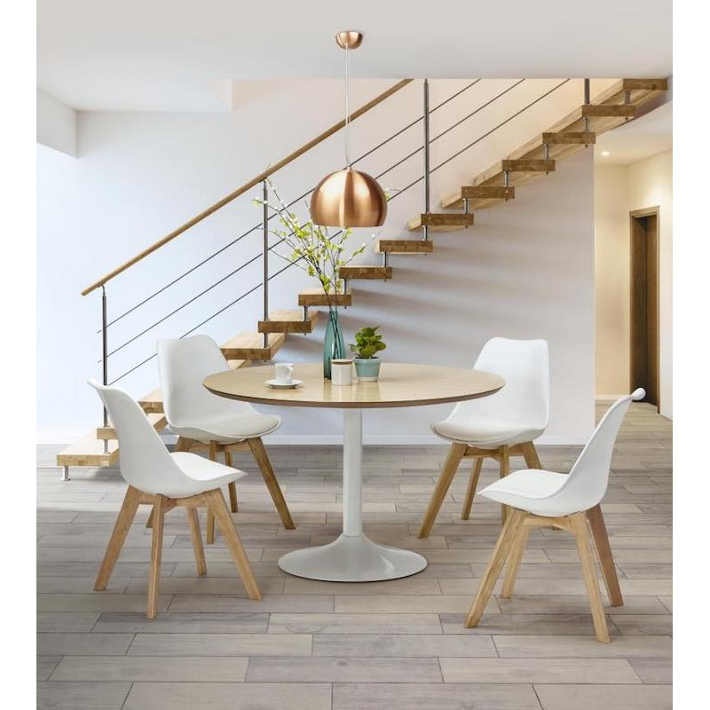 Table et chaise style scandinave Collection contemporaine et scandinave
